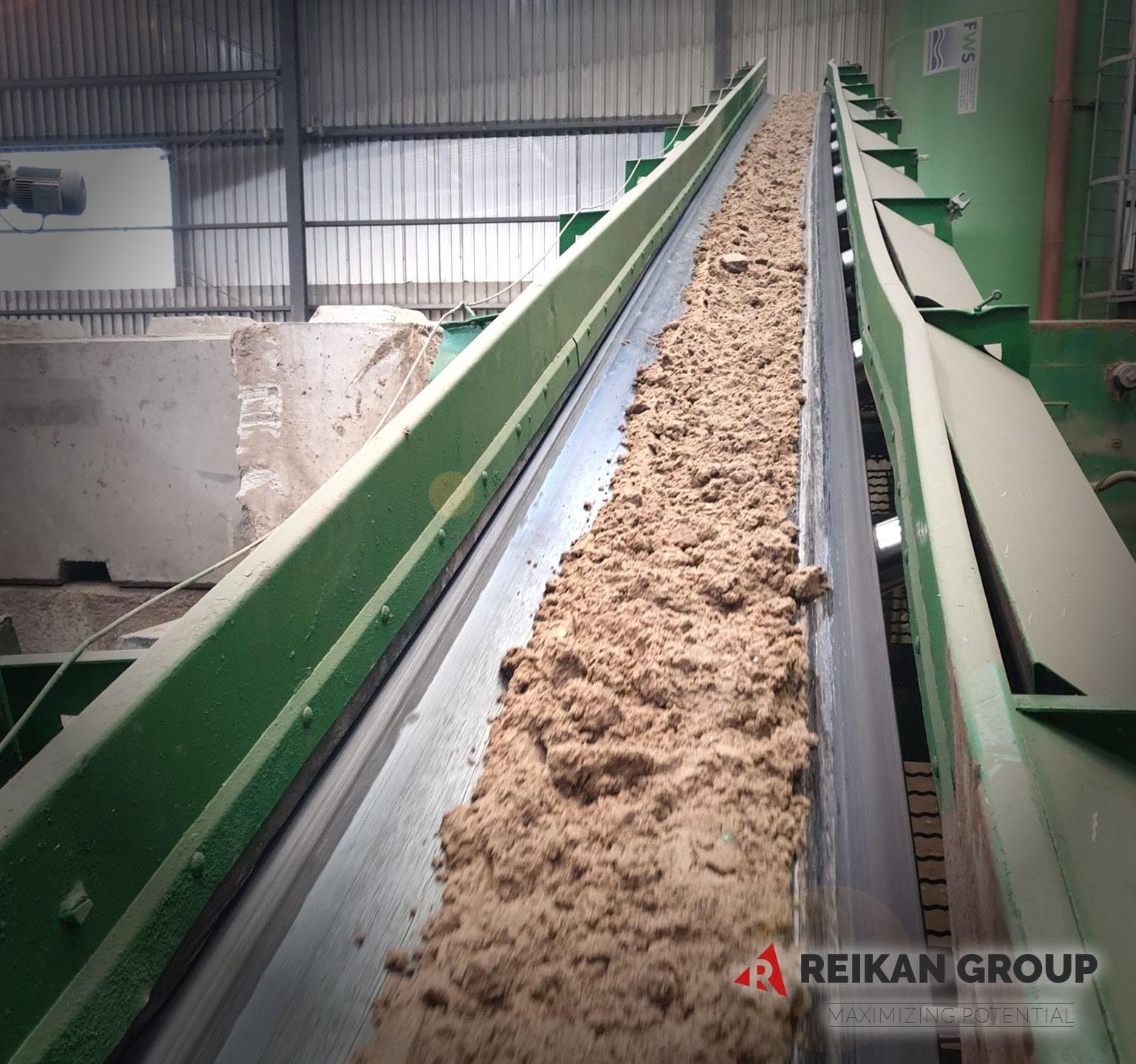 Reikan Group Baurohstoffe verschwendet Anlage Aveba